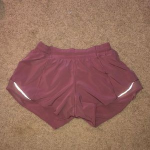 Hotty hot shorts long size 8 pink